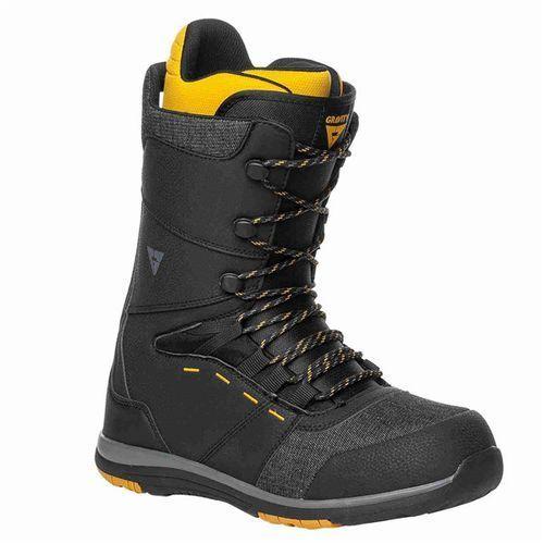 buty snowboardowe GRAVITY - Manual Black-Yellow (BLACK-YELLOW) rozmiar: 45.5