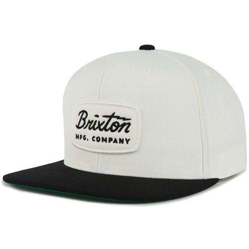 Brixton Czapka z daszkiem - jolt snapback off white/black/black (owbbk) rozmiar: os