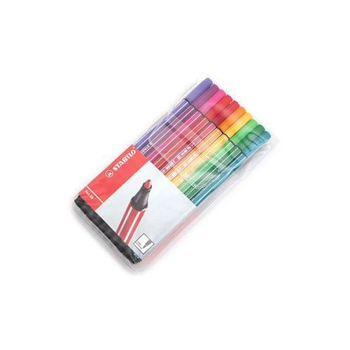 Flamastry STABILO Pen 68 20 kolorów miękkie etui (4006381116718)