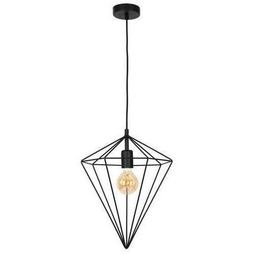 Luminex Basket 1110 lampa wisząca zwis 1x60W E27 czarny, 1110