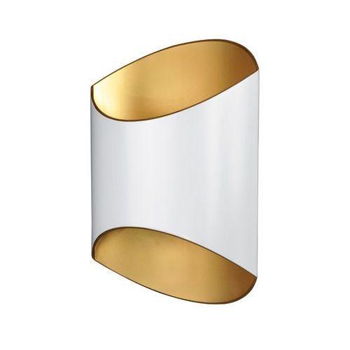 Kinkiet section 1005-wg lampa ścienna 1x33w g9 biały/złoty >>> rabatujemy do 20% każde zamówienie!!! marki Zuma line