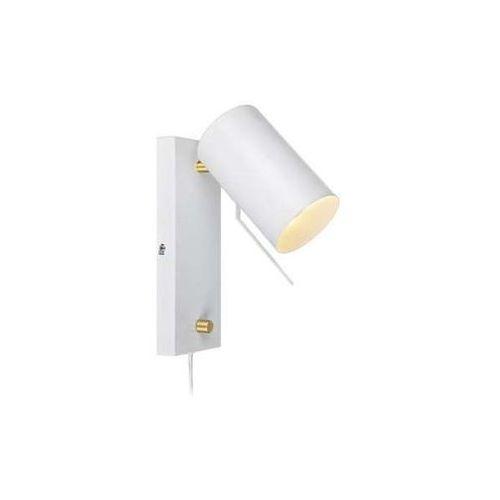 Kinkiet LAMPA ścienna CARRIE 106586 Markslojd metalowa OPRAWA ruchoma IP20 reflektorek biały (7330024564404)