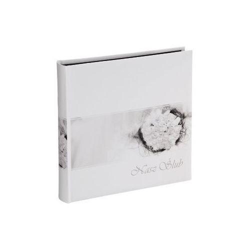 Hama  album jumbo sicilia 30x30/100 do zdjęć ślubnych z czarnymi kartkami