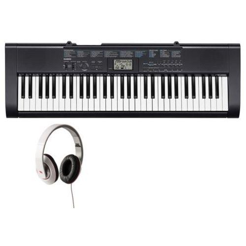 CASIO CTK-1200 - KEYBOARD + słuchawki Proel HFC16 + zasilacz + Instrukcja PL