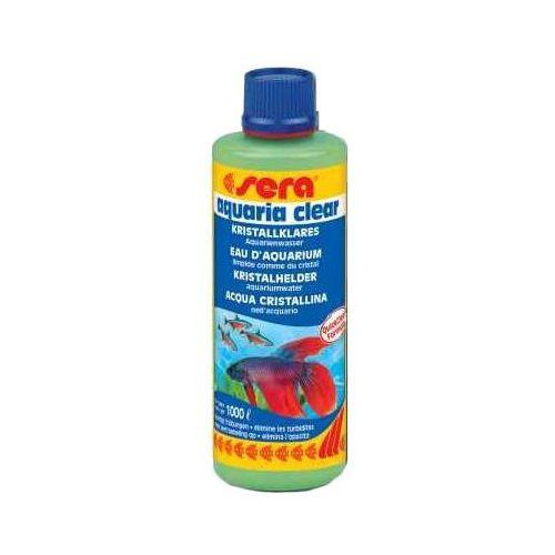 aquaria clear środek usuwający zmętnienie wody 100ml marki Sera