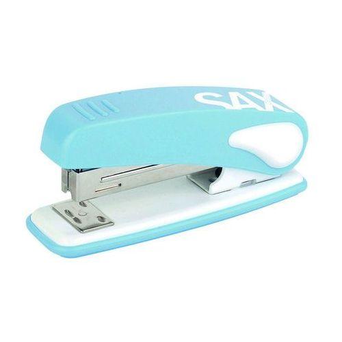 Zszywacz SAX239 Design, zszywa do 25 kartek, display, jasnoniebieski