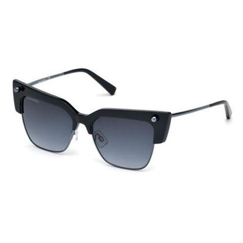 Okulary słoneczne dq0279 federica 90w marki Dsquared2
