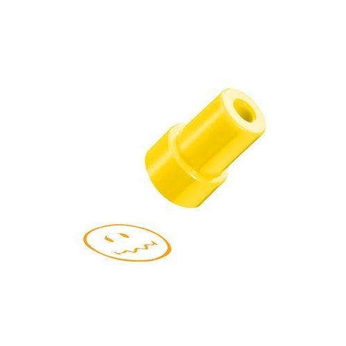Stempel smiley.world, żółty, zakłopotana, - żółty marki Herlitz