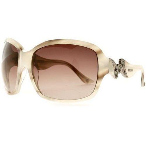 Okulary słoneczne mo 593/strass 03 marki Moschino