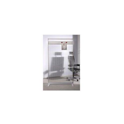 Ścianka działowa akrylowa z listwą magn. 180x100 marki Magnetoplan