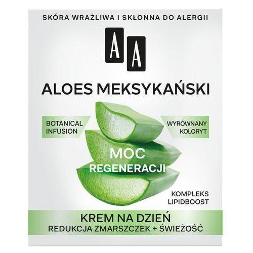 """Oceanic Aa moc roślin aloes meksykański 50+ krem na dzień """"moc regeneracji"""" 50ml"""
