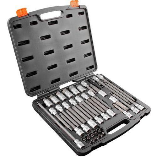 Zestaw bitów torx NEO 08-710 1/2 cala (38 elementów) + DARMOWY TRANSPORT!