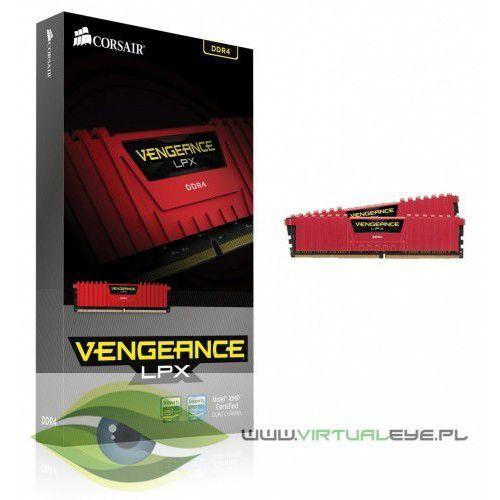 Corsair ddr4 vengeance lpx 16gb/2400(2*8gb) cl14-16-16-31 red 1,20v xmp 2.0