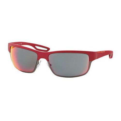 Prada linea rossa Okulary słoneczne ps50qs lj silver twl9q1