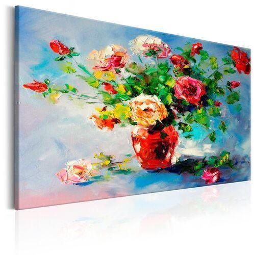 Obraz malowany - piękne róże marki Artgeist