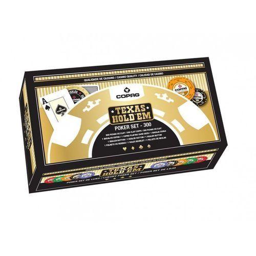 Zestaw do pokera 300 żetonów luxury marki Cartamundi