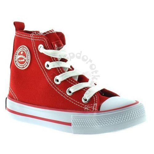 American club Trampki  9120-1 - czerwony