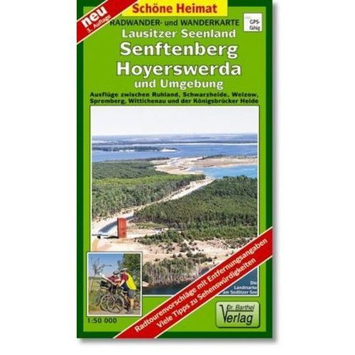 Doktor Barthel Karte Lausitzer Seenland, Senftenberg, Hoyerswerda und Umgebung (9783895911231)