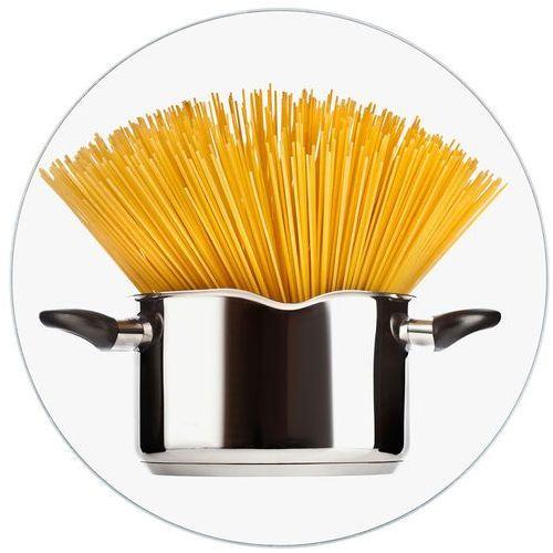 Wenko Podstawka pod garnek spaghetti, szklana deska, Ø 20 cm, (4008838320075)