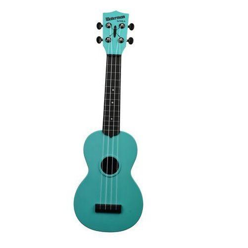 Kala KA-SWG-BL Waterman, ukulele sopranowe z pokrowcem, fluorescencyjny zielony
