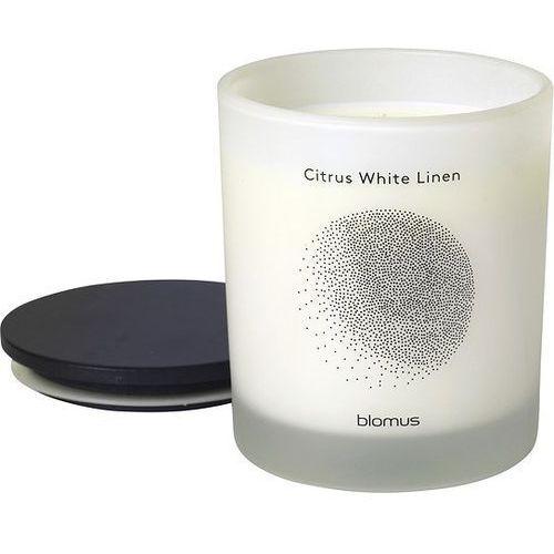 Świeca zapachowa Flavo 9 cm Citrus White Linen