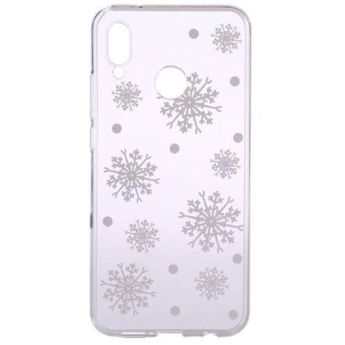 Epico obudowa na huawei nova 3 white snowflakes