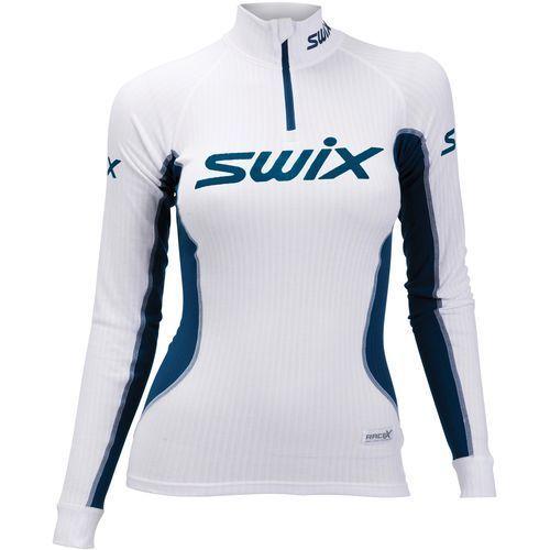 Swix koszulka funkcyjna damska Racex biały XS (7045952129457)