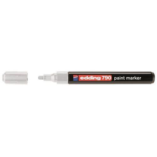 Marker olejowy 790, biały, końcówka okrągła 2-3 mm - rabaty - porady - hurt - negocjacja cen - autoryzowana dystrybucja - szybka dostawa marki Edding