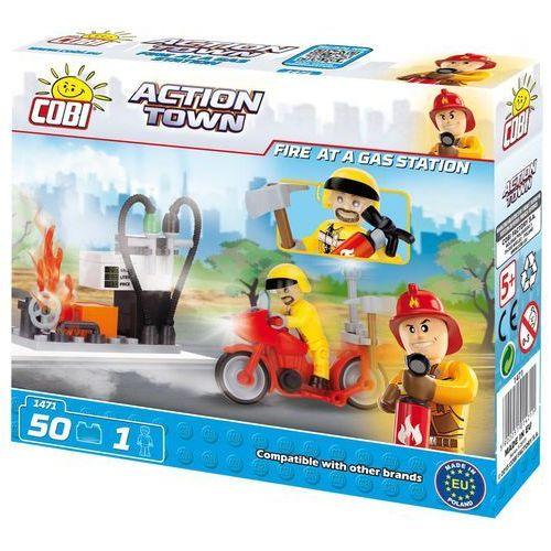 COBI Action Town Pożar n a stacji paliw