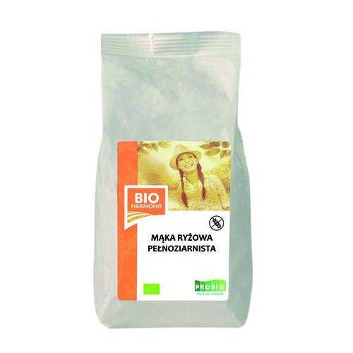 Pro-bio Mąka ryżowa pełnoziarnista bio 300g bezglutenowa, bioharmonie (8595582406460)