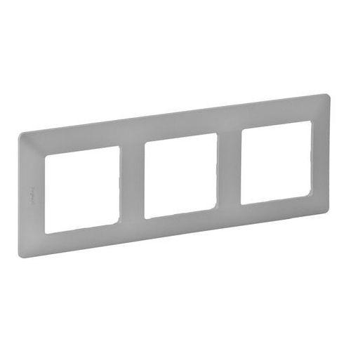Ramka potrójna Legrand Valena Life aluminium, 754133