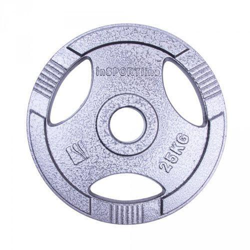Insportline Obciążenie olimpijskie stalowe  hamerton 25 kg (8596084027146)