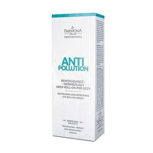 Farmona anti pollution rewitalizująco-odświeżający krem roll-on pod oczy 15ml marki Farmona professional