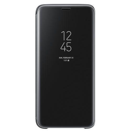 Samsung Galaxy S9 Clear View Standing Cover EF-ZG960CB (czarny), EF-ZG960CBEGWW