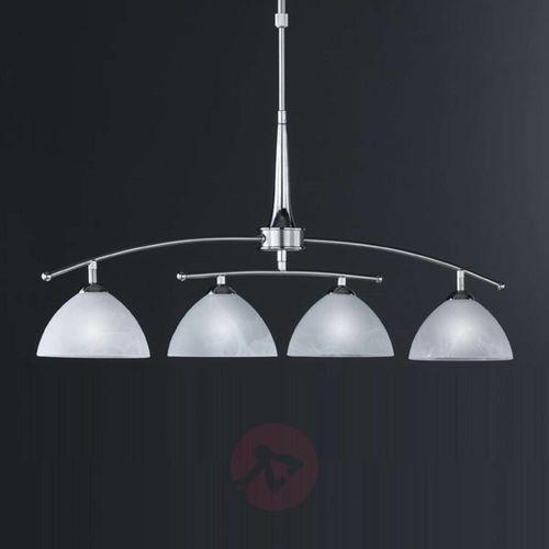 Honsel Prestige Lampa Wisząca Chrom, 4-punktowe - Klasyczny - Obszar wewnętrzny - Prestige - Czas dostawy: od 2-3 tygodni (4001133749749)
