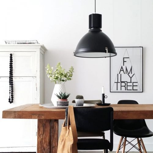 Steinhauer WARBIER lampa wisząca Czarny, 1-punktowy - Nowoczesny - Obszar wewnętrzny - WARBIER - Czas dostawy: od 3-6 dni roboczych