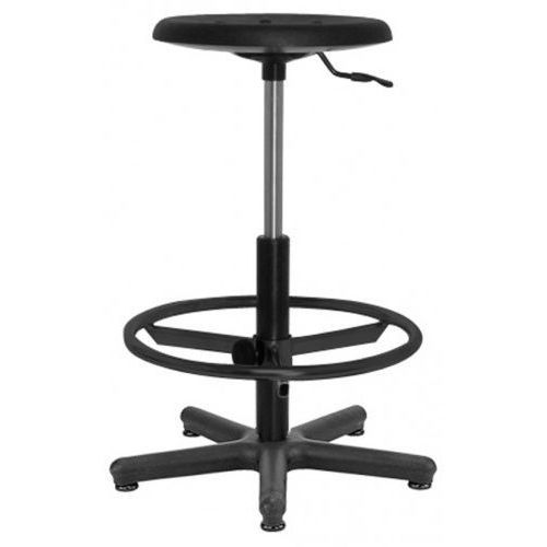 Nowy styl Krzesło specjalistyczne goliat pu ts12 + ring base - obrotowe z regulowanym podnóżkiem