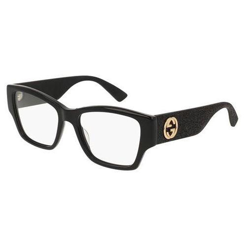 Okulary korekcyjne gg0104o 001 marki Gucci