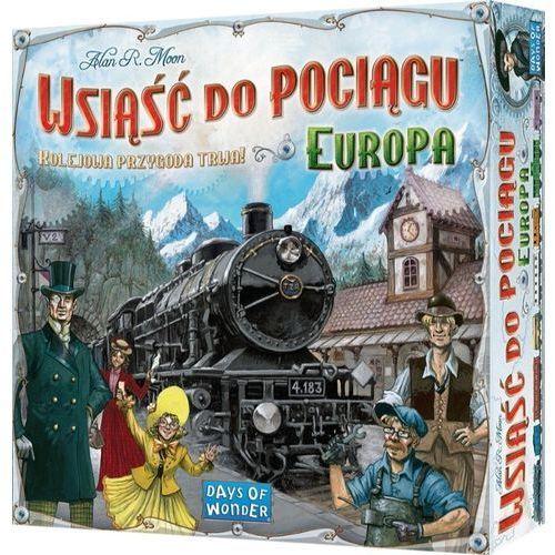 Gra - Wsiąść do pociągu - Europa