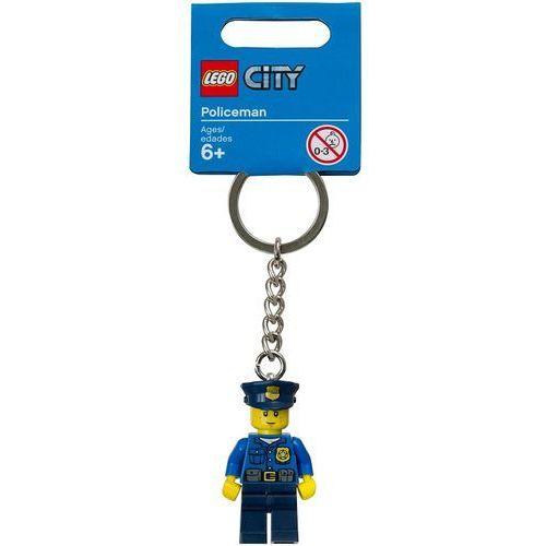 850933 brelok z figurką policjanta (city policeman key chain) city marki Lego