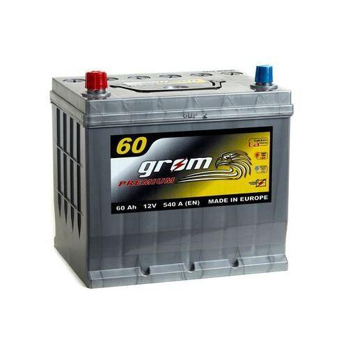 Akumulator GROM Premium 60Ah 540A Japan Lewy plus