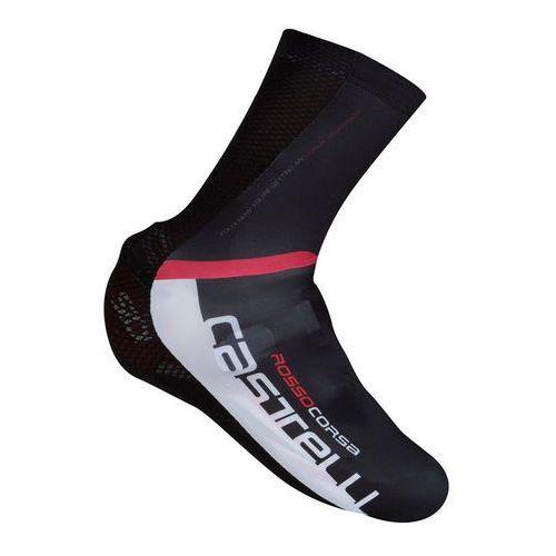 Castelli aero race osłona na but czarny xxl 2018 ochraniacze na buty i getry
