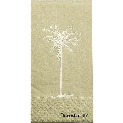 Serwetki palm zielone marki Bloomingville