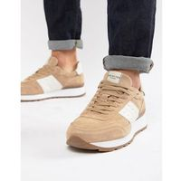 Selected Homme Premium Runner Trainer - Stone