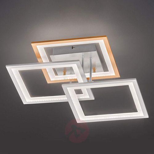 Wofi Modesto - lampa sufitowa led, ściemniana (4003474351629)