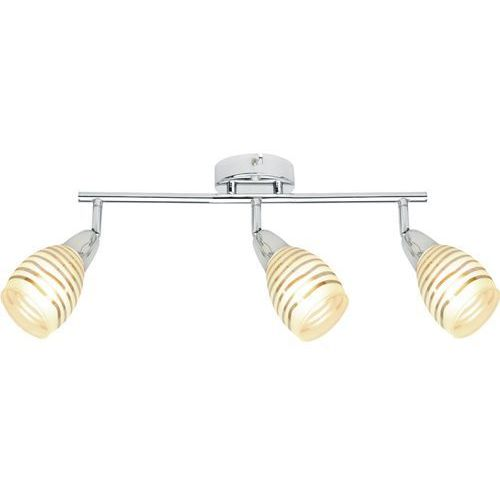 Jubilat lampa sufitowa (spot) 3-punktowa 93-55729, kolor Srebrny