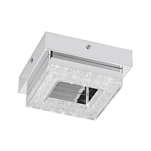 Eglo Plafon fradelo 95655 lampa sufitowa ścienna 1x4w led chrom/kryształ >>> rabatujemy do 20% każde zamówienie!!!