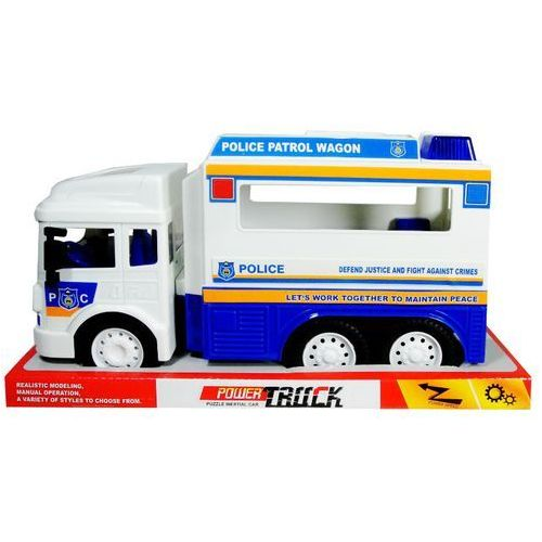 Zabawka  ciężarówka policyjna marki Swede
