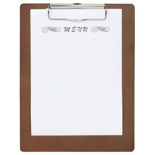 Drewniana podkładka do menu | 24x(h)32cm marki Olympia