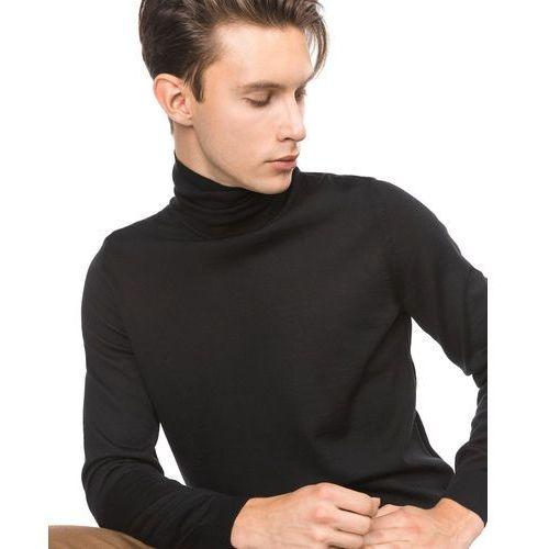 Hugo Boss Musso N Sweater Czarny M, kolor czarny